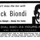 WBBM  Chicago Dick Biondi  July 13, 1983  1 CD