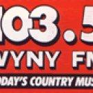 WYNY  Del Demontraux   1-25-93   1 CD