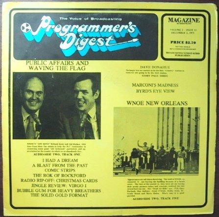 Programmers Digest  1-9  December 4, 1972   1 CD