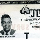 WBBC  Ernie Durham  R&B  4/57, 7/58 &  12/58   3 CDs