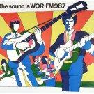 WOR-FM Mark Driscoll April 6, 1972   2 CDs