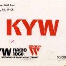 KYW Jim Runyan 6-65 unscoped WKYC Charles Dan 1968 scoped  1 CD