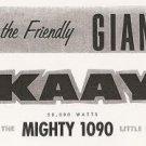 KAAY - Sonny Martin & George Jennings 02/12/72  1 CD