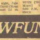 WFUN Final Hours 1/11/76  2 CDs