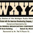 WXYZ David Newman History of WXYZ Radio 10/10/75   Detroit 2 CDs