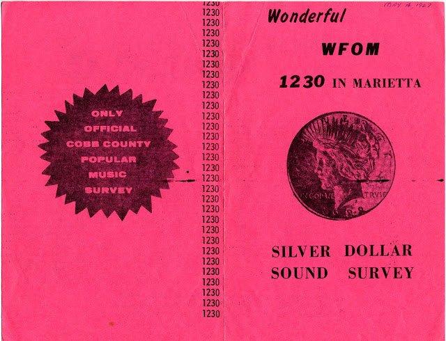 WFOM 1967 John Drake Silver Dollar Survey Georgia  1 CD