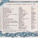 WWDJ Bob Savage-Gary Russell -last day 3/31/74  1 CD