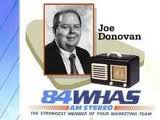 WHAS Joe Donovan   12/17/93  1 CD