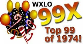 WXLO Top 99 of 1974 12/31/74 Dave Thompson, Ron O'Brien, Brian White Ron O'Brien, & More. 6 CDs