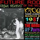KROQ-FM Future ROQ  3/8/81  1 CD