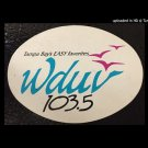 WDUV Tampa, Florida  8/31/85  1 CD