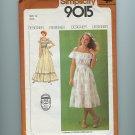 Vintage Sewing Pattern Romantic Gunne Sax Dress Gown Size 14 Simplicity 9015 UNCUT