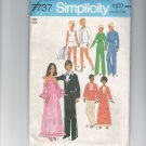 Fashion Doll Jumpsuit, Caftan, Tennis, Prom 1976 Pattern UNCUT Simplicity 7737 BARBIE KEN