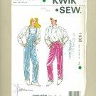 80s Rain Ski Pants Sewing Pattern Size XS-XL KWIK SEW 1936 UNCUT