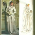 Vogue Christian Dior Paris Original Wedding Dress Sewing Pattern 2545 Size 12 UNCUT