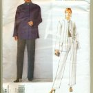 Sewing Pattern de la Renta Vogue 2188 Size 18-22 Misses Pants Jacket UNCUT