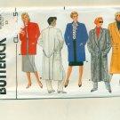 Vintage 80s Coats Huge Shoulder Pads Size 12 (bust 34) UNCUT Butterick 3422