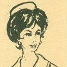 Vintage Sewing Pattern Pillbox Hat