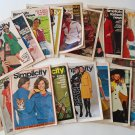 19 Vintage Fashion News 70s Hippie Sewing Pattern Booklets