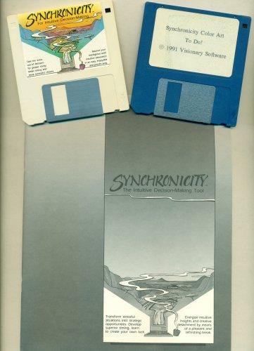 Vintage Mac Synchronicity I-Ching 1991 Macintosh Software Visionary