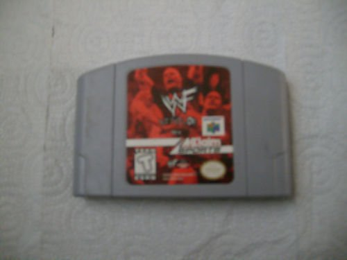 WWF Attitude For Nintendo 64 works good condition