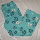 Women's Cute Pant Capris size 32x24 blue