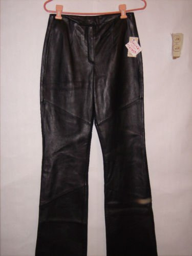Wilson 100% Italian Leather Pants size 4 NWT $250 tag