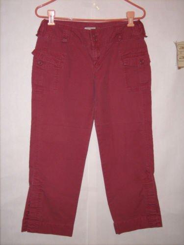Old Navy Dark Pink Cargo Pant Capris size 6