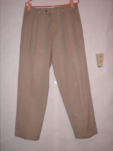 RGM Beige Khaki Pleated Dress Pants szie 34x30 EUC