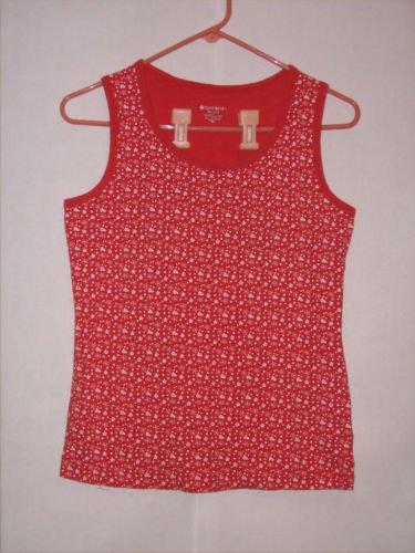 No Boundaries Floral Print Knit Tank Top size XL Junior
