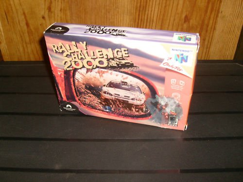 Rally Challenge 2000  (Nintendo 64, 2000) in box Works