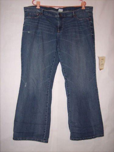 Old Navy Low Rise Waist Blue Denim Jeans size 18 EUC