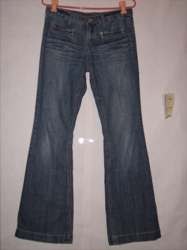 Mudd Distressed Flare denim Jeans size 7 Juniors