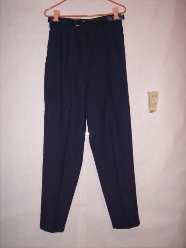 Requirements Blue Dress Pants size 10P EUC w/belt