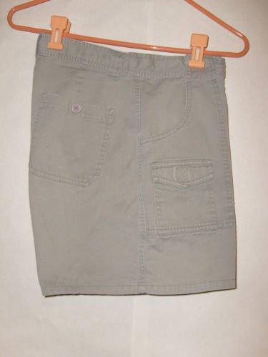 Faded Glory Gray Khaki Shorts size 10