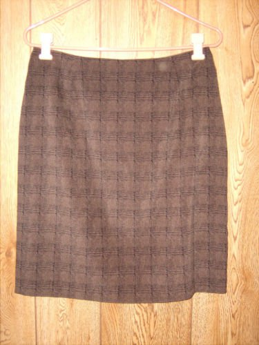 Giorgio Fiorlini Brown Black design skirt size 11/12