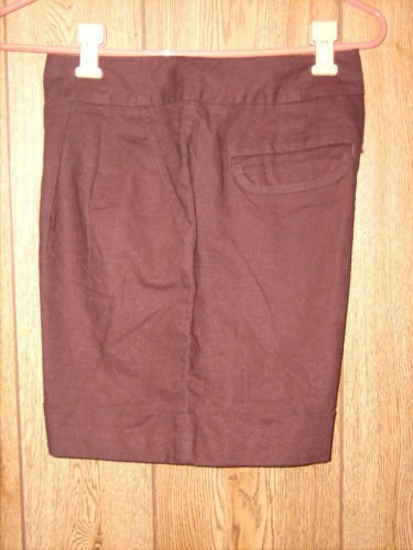 Cato Brown Pleated Dress Shorts size 10