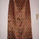 A. Byer California Long Geo Pattern Skirt Size 11 Juno