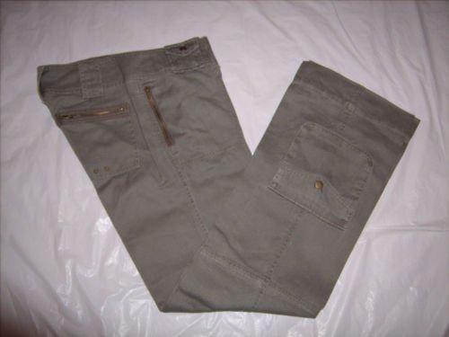 Copper Key Green khaki Cargo Pants size 5 Juniors