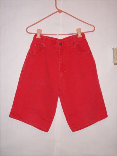 Global Generation dark orange Denim Jean Shorts size L