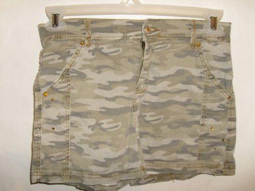 Girl's Arizona Jeans Brand Camo Cotton Shorts size 14