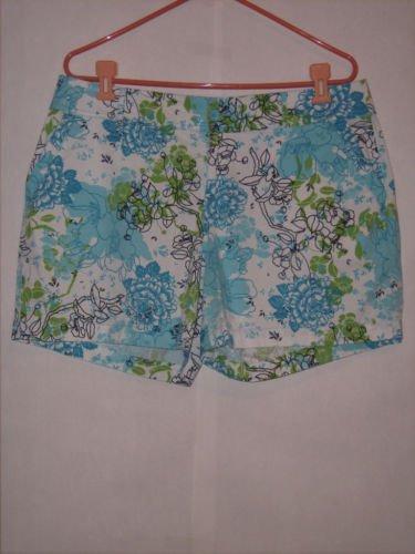 Fashion Bug Floral Print Shorts size 16 Cute