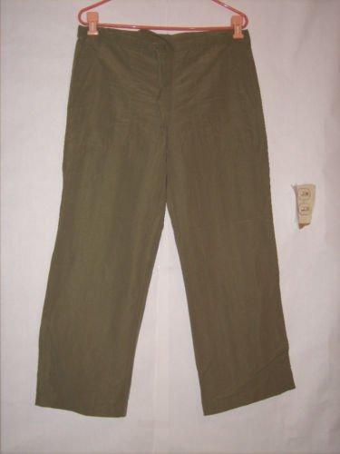 I.N. San Francisco Green Long Pant Capris Size 9 Junior