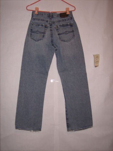 Arizona Distressed Boot Cut Blue denim Jeans size 29x30