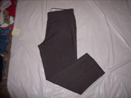 Haggar Gray Flat dress Pants size 40x30 EUC