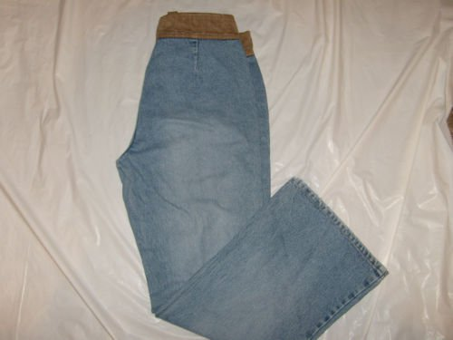 Faded Glory Flare Denim jeans Adjustible size 14 Misses