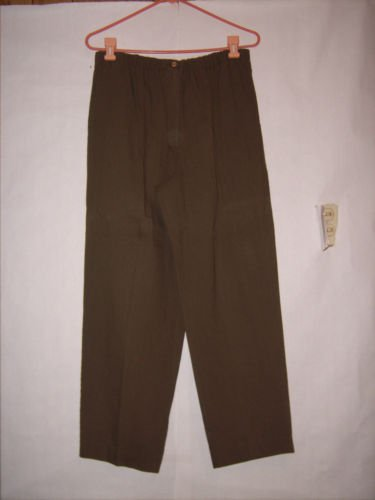 Teddi olive green Pleated Front Dress Pants size 12