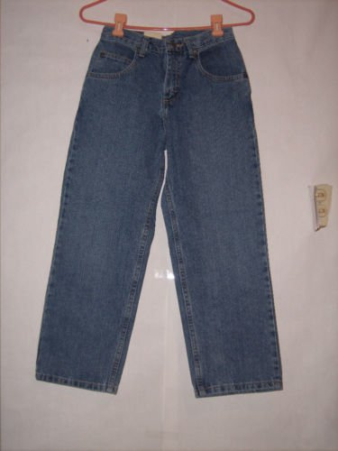 Lee Loose Straight Leg Denim Jeans Size 10H NWT Lower on waist