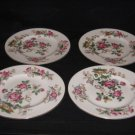 "Wedgwood Charnwood Fine China WD-3984 8"" Salad Plate Set of 4 Good Condition"