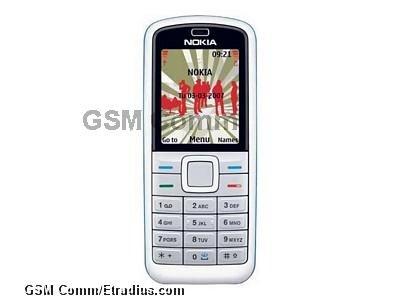 Nokia 5070 (blue)